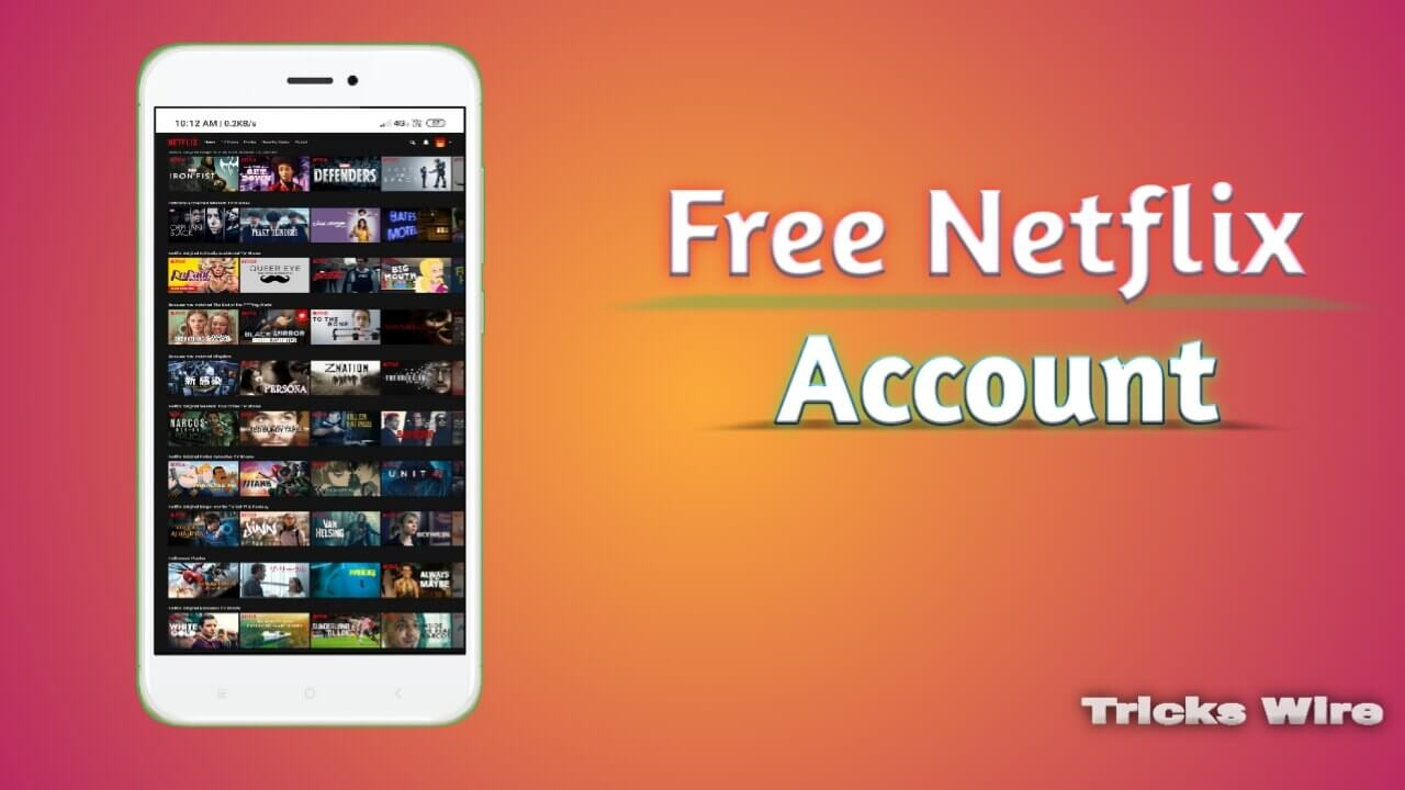 250+ FREE Netflix Accounts & Password 2021 [100% working]