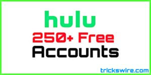 Free Hulu Plus Account