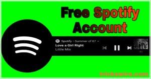 Free Spotify Premium Account