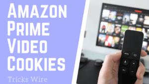 Prime video cookies