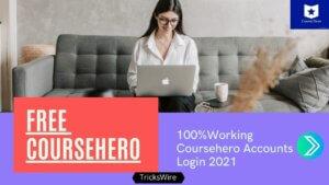 Free Coursehero accounts