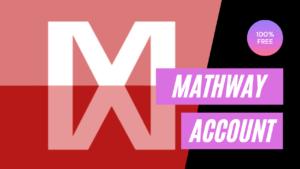 Free mathway accounts