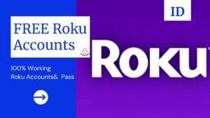 FREE Roku Accounts